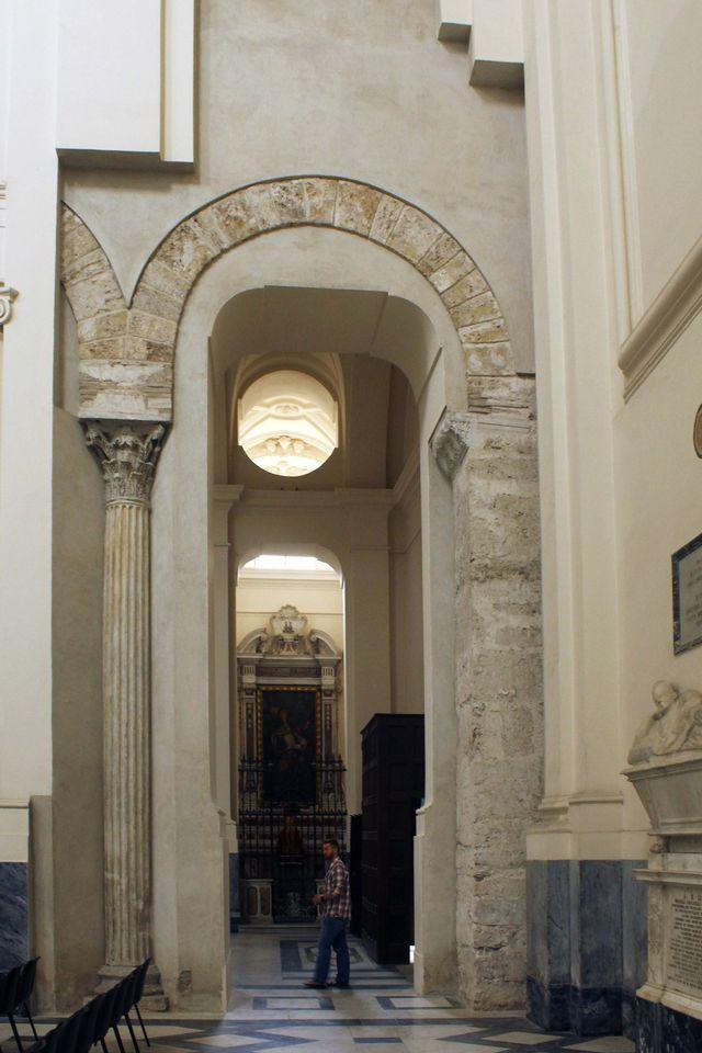 cattedrale san matteo 33 navata centrale
