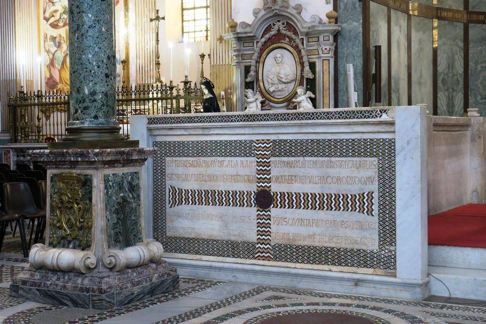 cattedrale san matteo 37  altare maggiore 2