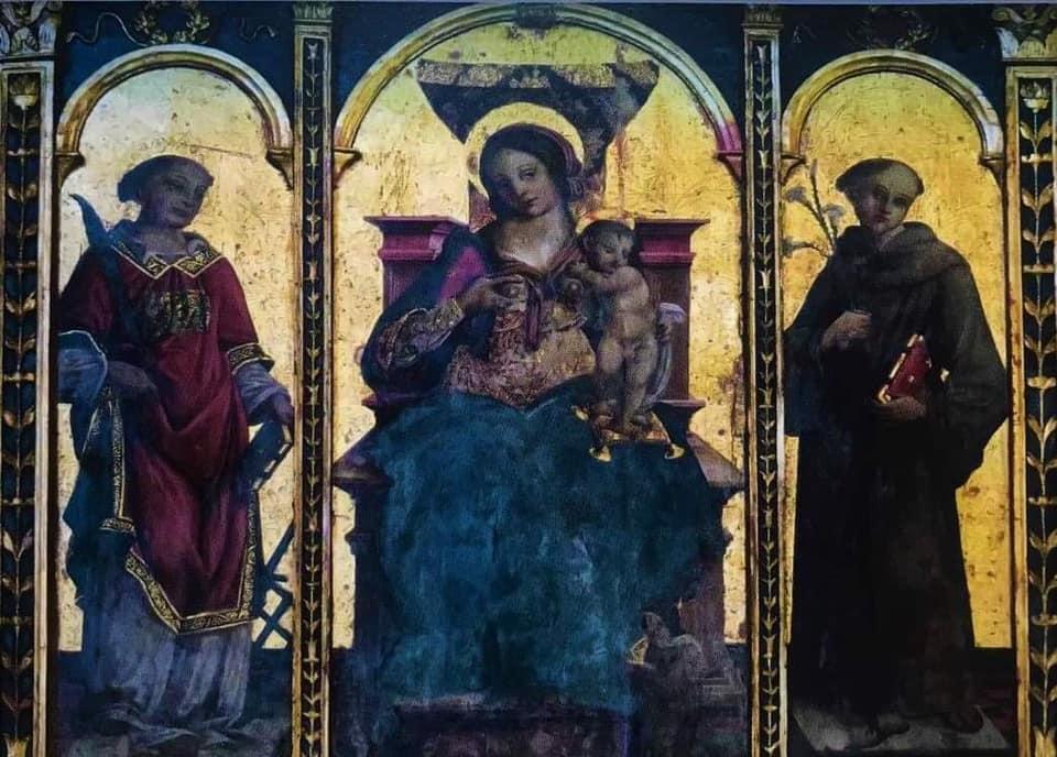 cattedrale san matteo 42 transetto trittico