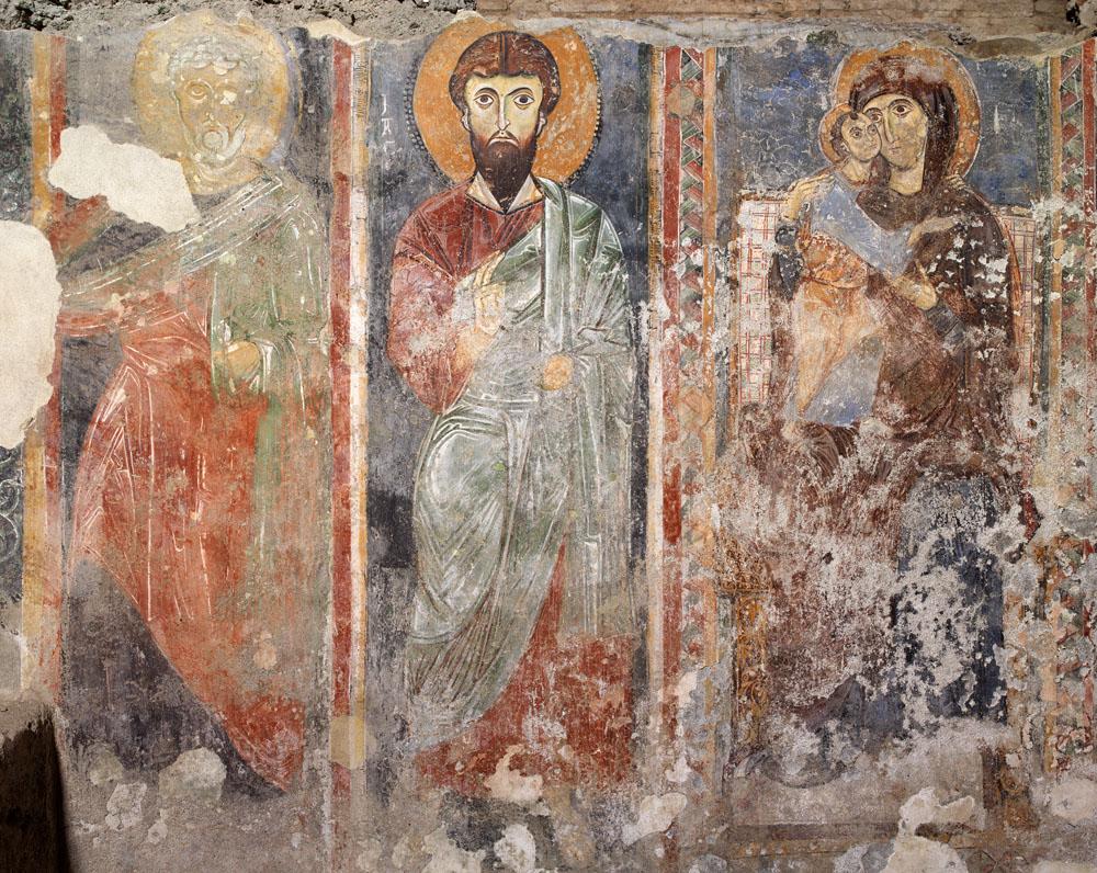 complesso san pietro a corte affreschi