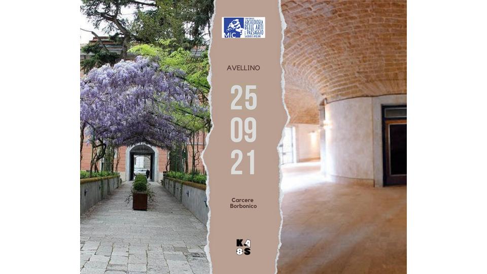 giornate del patrimonio 2021 locandina Kaos Antitesi del Silenzio: forma, spazio, tempo