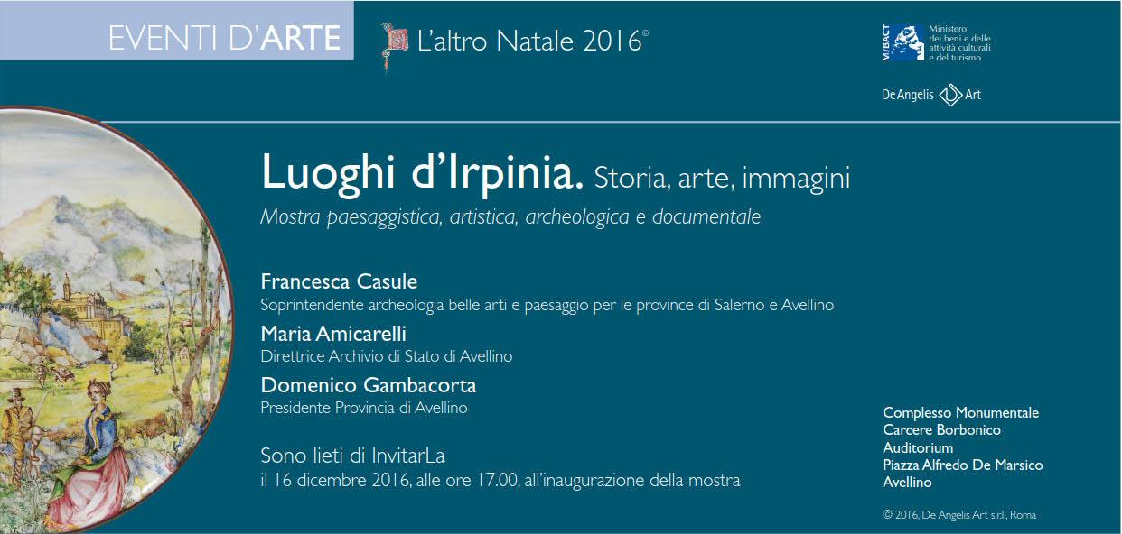 Mostra Luoghi d'Irpinia 2016