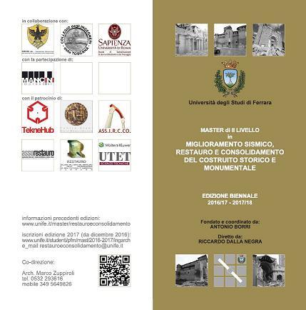 Master Università Ferrara