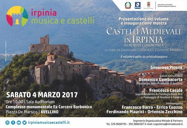 invito presentazione volume castelli medievali
