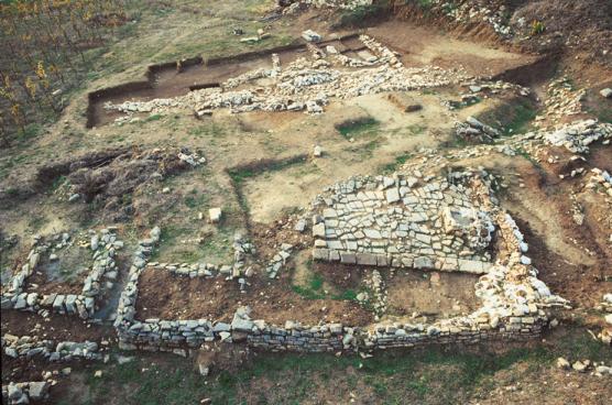 Roccagloriosa scavo