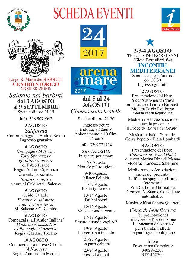 eventi comune di salerno 2017