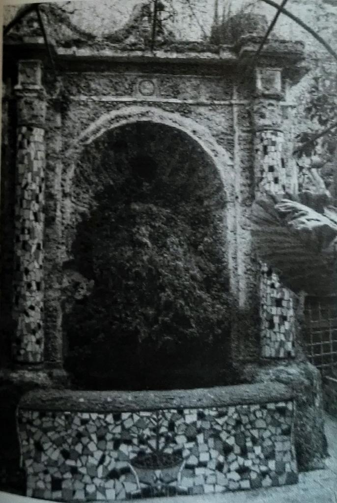fontana palazzo san massimo terrazza